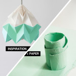 Inspiration + Paper = Origami Lampshades by Snowpuppe