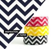 Inspiration + Paper = Zig Zag Pattern