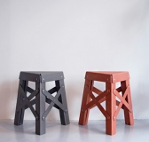 Green Paper Design – The Eiffel Stool by RS Barcelona