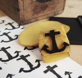 DIY Home Made Anchor Stamp
