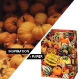 Inspiration + Paper = Paper Pumpkin Bags