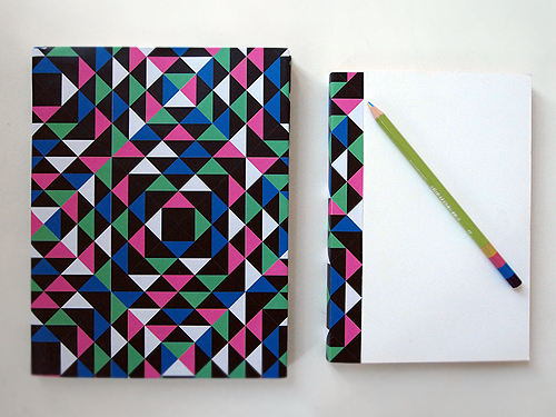 Book Cover Design Ideas For School ~ Diy geometric book covers free download design and paper