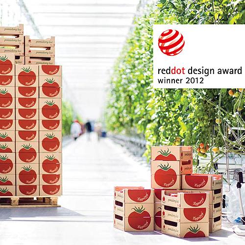 Gajny Tomato Farm 39 S Award Winning Packaging Design And Paper