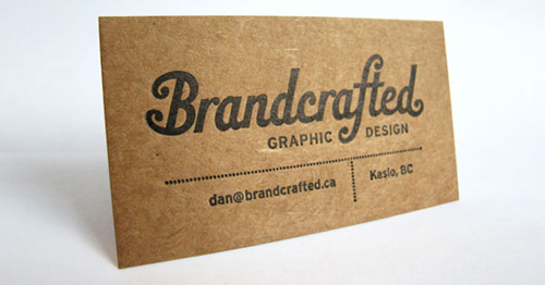 Kraft board business cards design and paper kraft paper business card 02 colourmoves