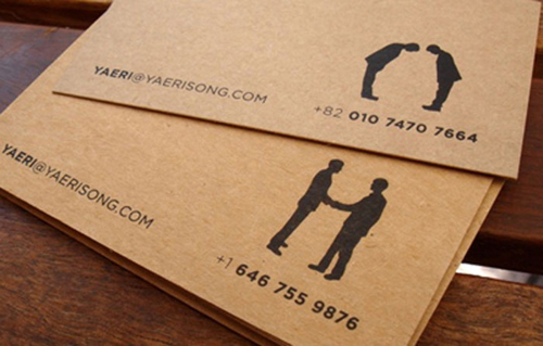 Kraft paper business card 07 design and paper kraft paper business card 07 colourmoves