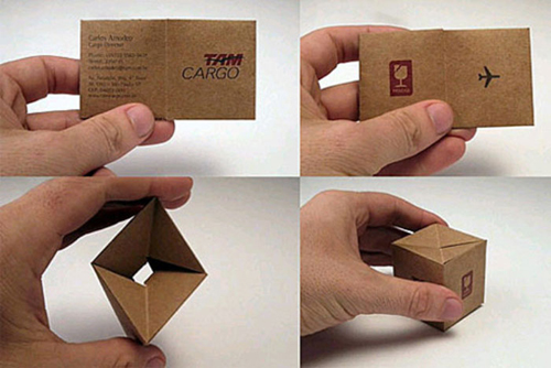kraft paper business card 08 - Kraft Paper Business Cards