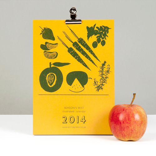 PirripPress_silkscreen_printed_calendar_seasonal_foods_2014_01