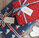 Cool Wrapping Papers and other Christmas Packaging Ideas