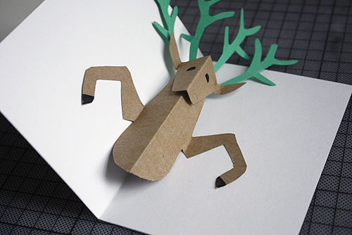 Diy pop up reindeer holiday card design and paper making these cards was quite fun to do but a little bit time consuming so i dont think ill be making too many of them just for the extra special ones solutioingenieria Gallery