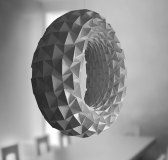 Folded Light Art by Jiangmei Wu
