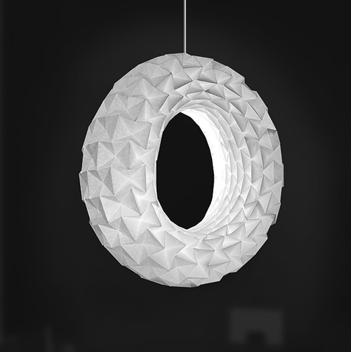 Folded Light Art By Jiangmei Wu Design And Paper