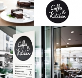 Minimal Branding for Coffee&Kitchen by Moodley