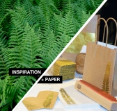 Inspiration + Paper = JudiKins Rubber Fern Stamp