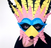 DIY Cuckoo Masks for Carnival