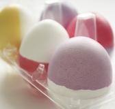 DIY Dip Dyed Easter Eggs