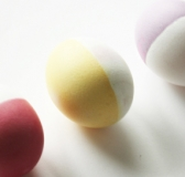 DIY Dip Dyed Easter Eggs