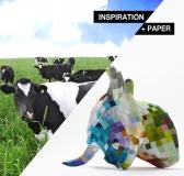 Inspiration + Paper = PAPER SCULPTURE