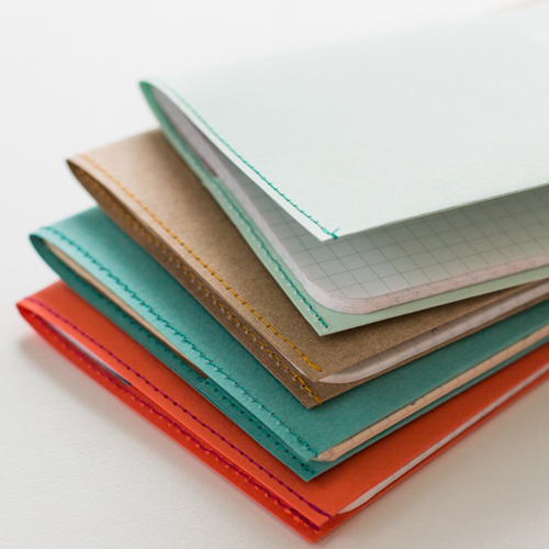 Cool idea to sow new paper covers up any unsightly notebooks you may have.