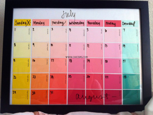 Keep all of their schedules straight and your sanity in tact with a new (and pretty!) calendar!