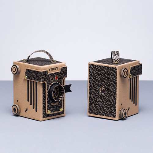VIDDY: The 30 minute DIY pinhole camera kit | Design and Paper