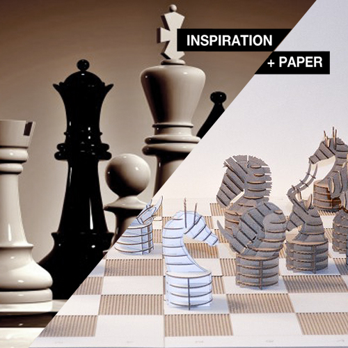 Inspiration Paper Schachpapp By Katharina Holz Design