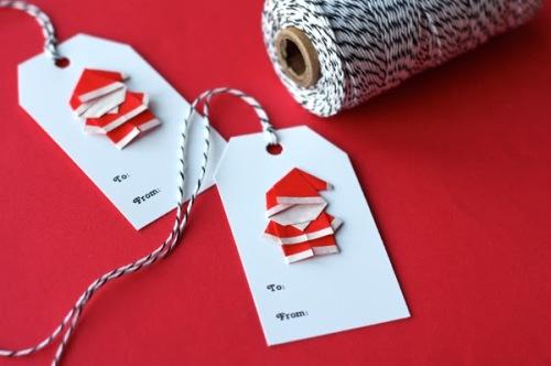 Make a Tiny Origami Santa22