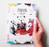 Piknik – Illustrated Colouring Book by Simona Čechová