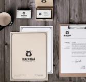Black Bear Branding by Nuray Nuri