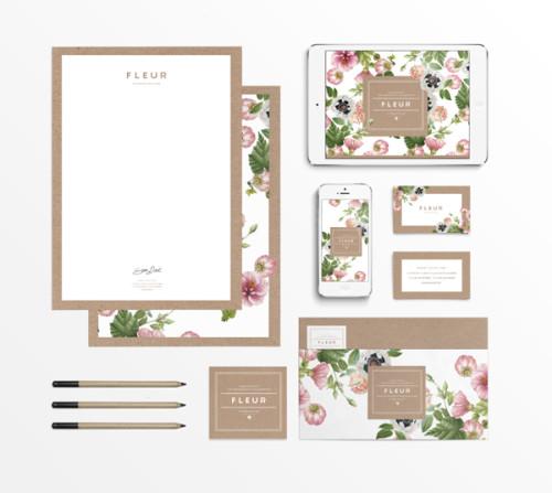 fleur by judit besze design and paper. Black Bedroom Furniture Sets. Home Design Ideas