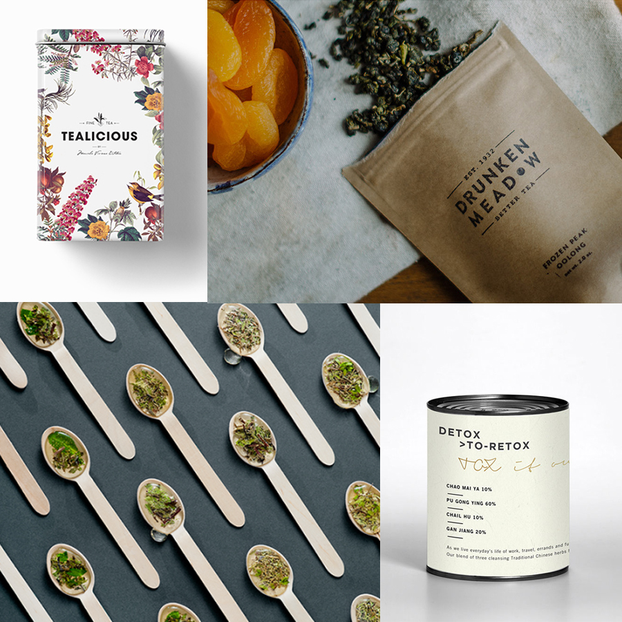 12+ Creative Tea Packaging Designs