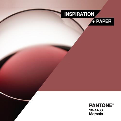 Inspiration + Paper = Marsala