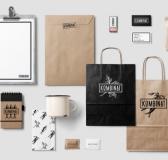 Kombinat Cafe & Restaurant Logo Design