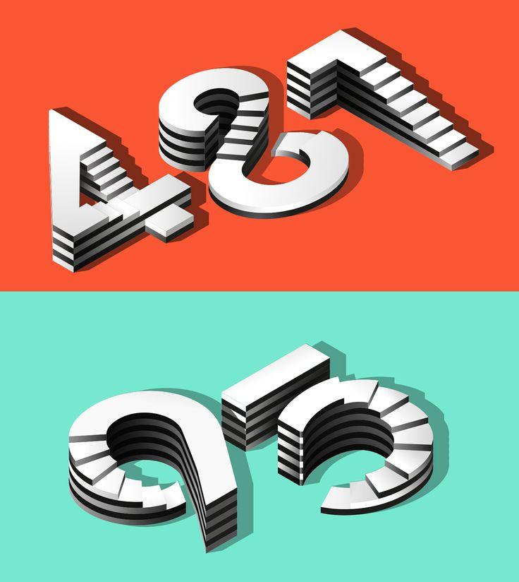 50 Inspiring Typographic Designs | Design & Paper