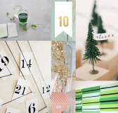 10 Stylish Paper Advent Calendars