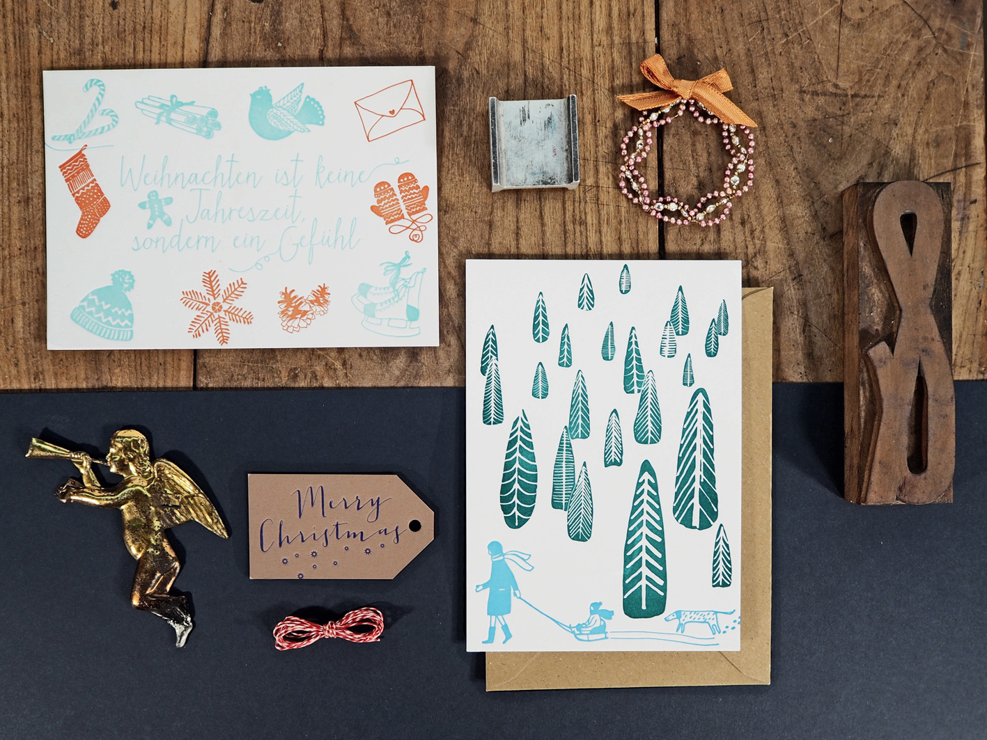 CarissimoLetterpress_xmas2015_Weihnachten&Snowy Forest_Photocredits Carissimo Letterpress_web