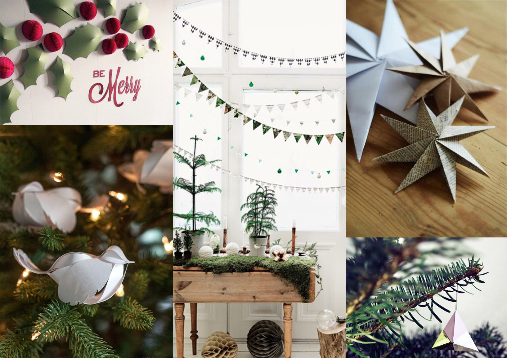 17 clever diy ideas for the holidays design and paper diy paper decorations main jeuxipadfo Images
