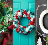 10 DIY Paper Wreaths for the Holiday Season