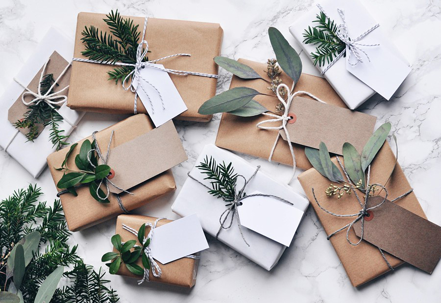 Diy Christmas Gift Wrapping Inspiration Design Paper
