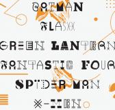 TypoThursday × Random Typeface by Emil Kozole