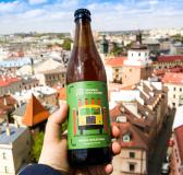 Retro Inspired Browar Zakładowy Beer Labels by Dawid Ryski