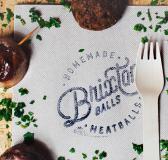 Brixton Balls Branding by MOO Design
