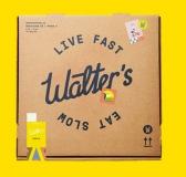 Live Fast & Eat Slow – Walter's Bistro Branding by Petr Kudlacek