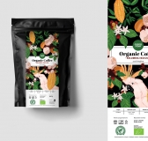 Organic Coffee Illustrations & Packaging by Gravika