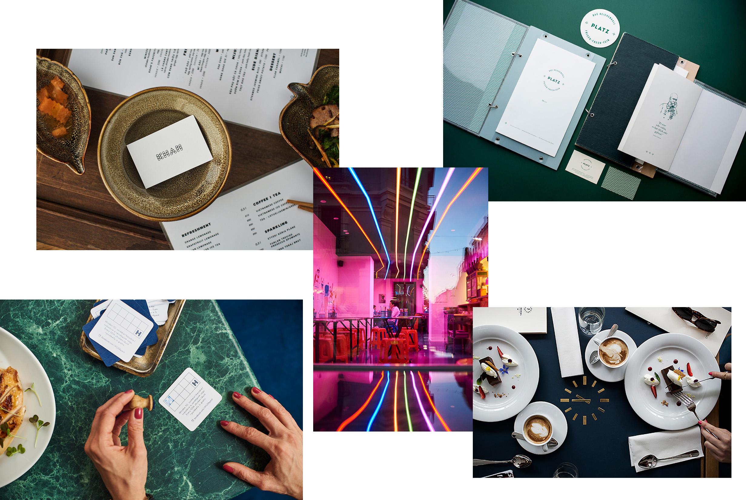 11 Gorgeous Restaurant Branding Concepts By Eszter Laki Design Paper