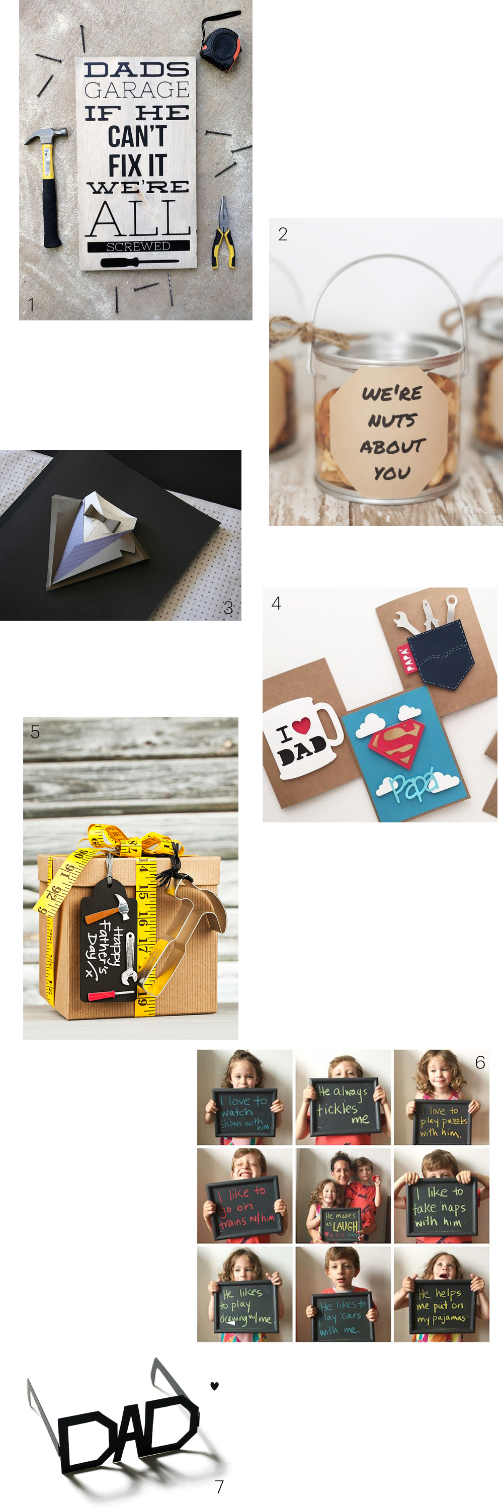 21 Funny Father\'s Day DIY Gift Ideas | Design and Paper