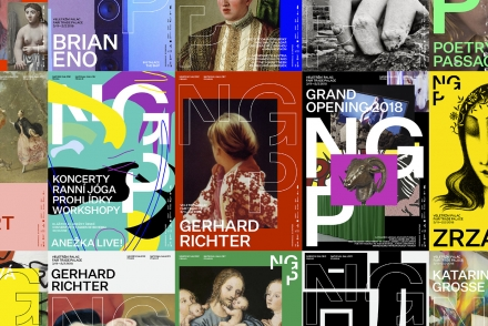 Studio Najbrt Wins the Re-Design of the National Gallery Prague Visual Identity