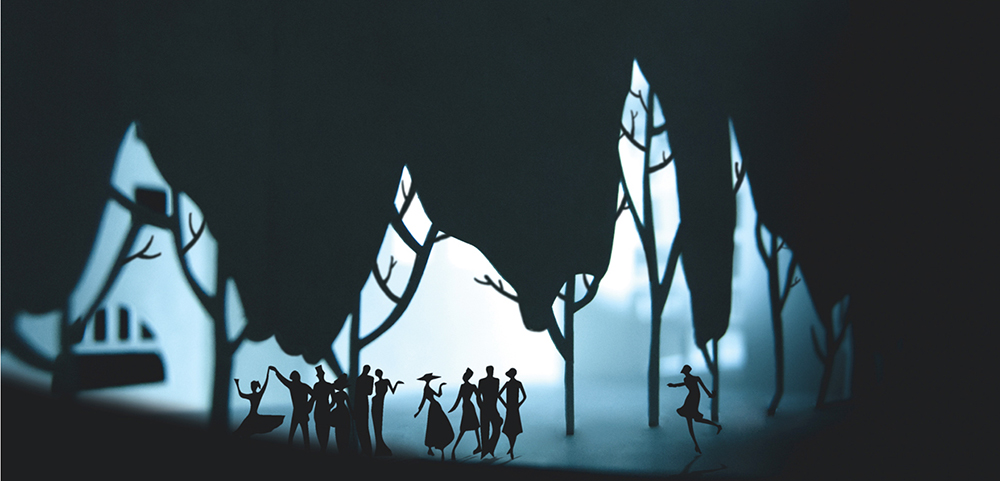 'Essays of St.Petersburg Mythology' Paper-Cut Illustration By Mary Komary