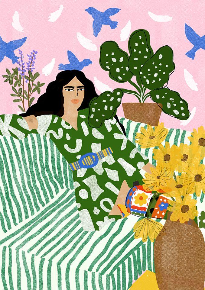 dont leave me waiting Alja Horvat illustration