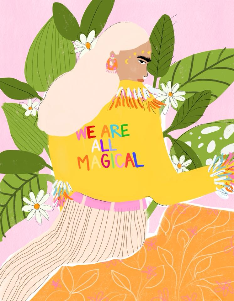 we are all magical Alja Horvat illustration
