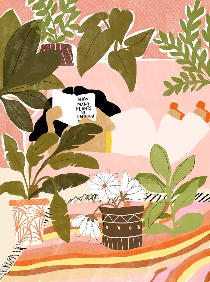 how many plants is enough Alja Horvat